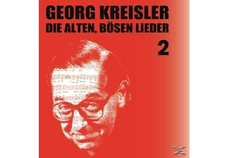 Georg Kreisler - Die Alten,Bösen Lieder 2  - (CD)