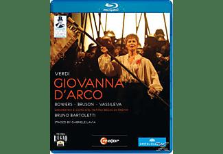 Orchestra/Coro Teatro Regio Pa, Bartoletti/Bowers/Bruson/Vassileva - Giovanna D'arco  - (Blu-ray)
