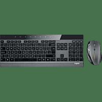 RAPOO 12116 8900P, Tastatur-Maus Set, Schwarz