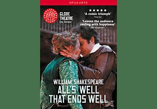 BERTENSHAW/COX/CRANE/CRANSTON/.., Dove/Bertenshaw/Cox/Crane/+ - All's Well That Ends Well  - (DVD)