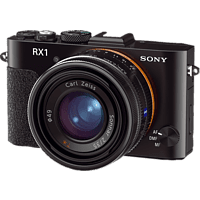SONY Cyber-shot DSC-RX1 Kompaktkamera Schwarz, 24.3 Megapixel, TFT-LCD, Xtra-Fine