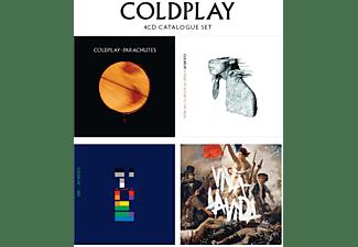 Coldplay - 4 CD Catalogue Set  - (CD)