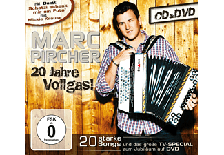 Marc Pircher 20 Jahre Vollgas! CD + DVD Video
