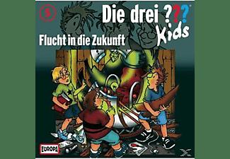 - Die Drei ??? Kids 05: Flucht In Die Zukunft  - (CD)