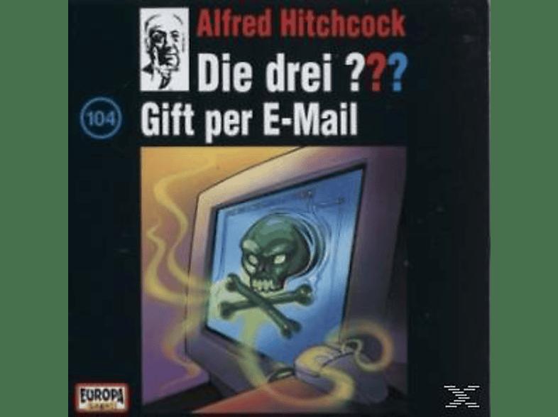 Die drei ??? 104: Gift per e-mail - (CD)