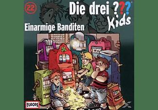 Die drei ??? Kids 22: Einarmige Banditen  - (CD)
