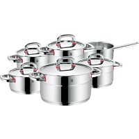 WMF 17.8806.6040 Premium One 6-tlg. Kochgeschirr-Set (Cromargan® Edelstahl rostfrei 18/10)