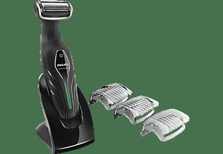 Afeitadora corporal - Philips BG2036/32 Recargable, 3 peines de corte intercambiables,