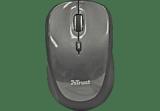 TRUST 18519 Yvi Mini Funkmaus PC-Maus, Schwarz