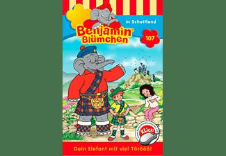 Benjamin Blümchen  - Benjamin Blümchen Folge 107: In Schottland  - (MC)