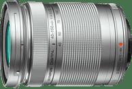 OLYMPUS Zuiko Pen M ED 40-150mm 1:4.0-5.6 R 40 mm - 150 mm f/4-5.6 (Objektiv für Micro-Four-Thirds, Silber)