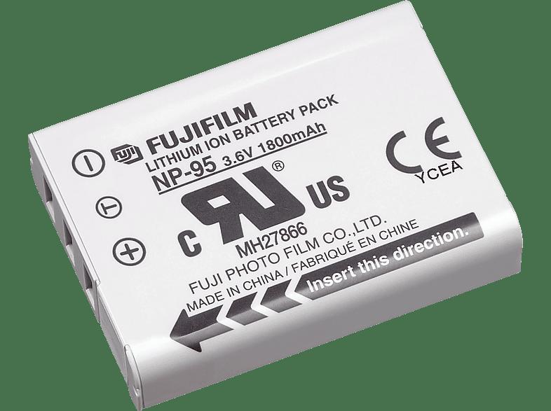 FUJIFILM NP-95 Akku Fuji , Li-Ion, 3.6 Volt, 1800 mAh