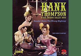 Hank Thompson & His Brazos Valley Boys - HEADIN DOWN THE WRONG WAY  - (CD)