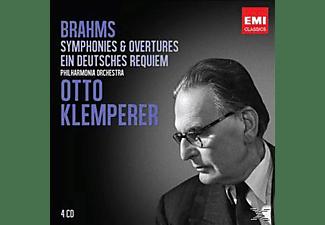Otto Klemperer - Sinfonien & Overtüren / Ein Deutsches Requiem  - (CD)