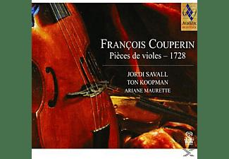 Jordi Savall, Ton Koopman, Ariane Maurette - Pièces De Violes - 1728  - (SACD Hybrid)
