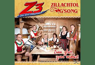 Die & Zillachtol Z3-drei Zillertaler - Zwoa glatt,zwoa verkehrt  - (CD)