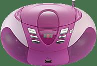 LENCO SCD-37 Radiorecorder, Pink