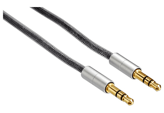 HAMA Verbindungskabel AluLine Klinke 3.5 mm (80868)