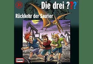 Die drei ??? Kids 31: Rückkehr der Saurier  - (CD)