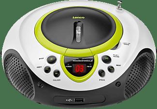 LENCO Radio SCD 38 USB mit CD-Player und USB-Wiedergabe, grün