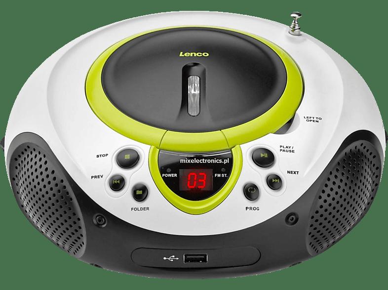 LENCO SCD-38 Radiorecorder (Grün)