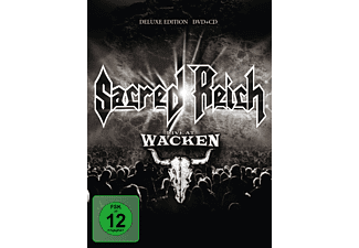 Sacred Reich - LIVE AT WACKEN OPEN AIR  - (DVD + CD)