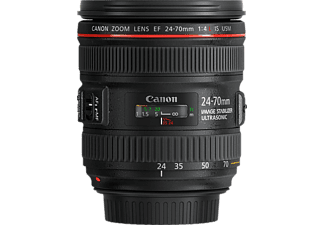 CANON EF 24-70mm F4L IS USM 24 mm - 70 mm f/4 EF, L-Reihe, IS, USM (Objektiv für Canon EF-Mount, Schwarz)