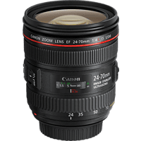 CANON EF 24-70mm F4L IS USM  für Canon EF-Mount, 24 mm - 70 mm, f/4