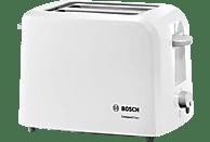 BOSCH TAT 3A 011 Toaster Weiß/Hellgrau (980 Watt, Schlitze: 2)