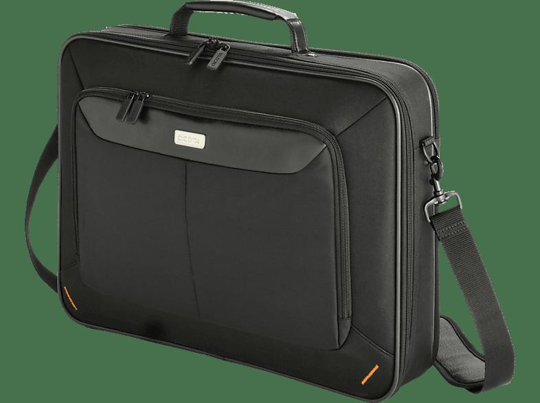 DICOTA D30336 Advanced XL Notebooktasche, Umhängetasche, 17 Zoll, Schwarz