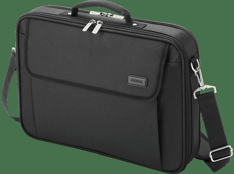 DICOTA D30491-V1 Multi Plus Base Notebooktasche, Umhängetasche, 15.6 Zoll, Schwarz