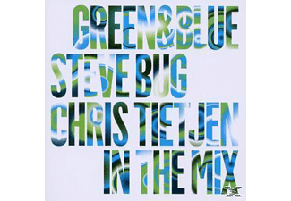STEVE BUG/CHRIS TIETJEN - Green & Blue 2010 Mixed By Steve Bug And Chris Tie  - (CD)