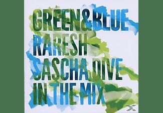 Sascha Dive & Raresh - Green & Blue-Doppel CD  - (CD)