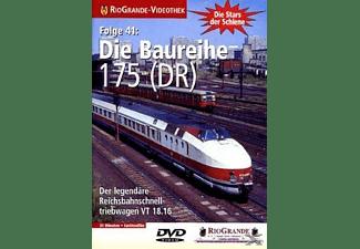 RioGrande-Videothek - Stars der Schiene - Folge 41 - Die Baureihe 175 (DR) DVD