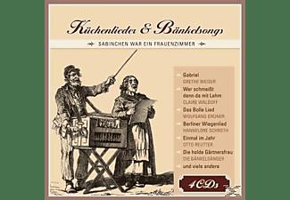 VARIOUS - Küchenlieder + Bänkelsongs  - (CD)