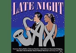 VARIOUS - Late Night Sax  - (CD)