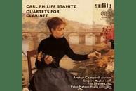 Arthur Campbell, Pablo Mahave-Meglia, Paul Swantek, Gregory Maytan - Klarinettenquartette [SACD Hybrid]