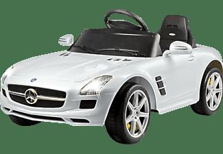 JAMARA KIDS 404610 Mercedes SLS AMG Kinderfahrzeug, Weiß