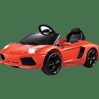 JAMARA KIDS 404605 Lamborghini Aventador Kinderfahrzeug, Orange