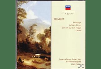 Suzanne Danco, Robert Tear, Elizabeth Singers, Louis Halsey - Auf Dem Strom, Der Hirt Auf Dem Felsen  - (CD)