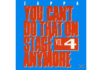 Frank Zappa - You Can't Do That On Stage Anymore Vol.4  - (CD)