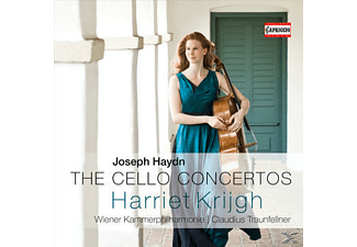 Claudius Traunfellner, Wiener Kammerphilharmonie, Harriet Krijgh - The Cello Concertos  - (CD)
