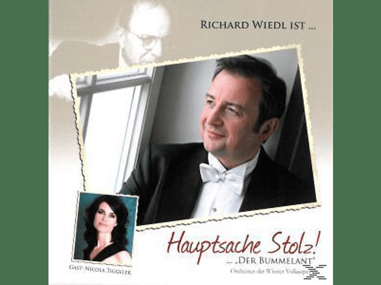 """Richard Wiedl - Hauptsache Stolz !...""""der Bummelant"""" [CD]"""