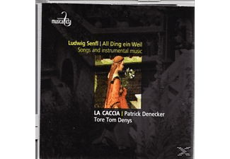 La Caccia, Patrick Denecker, Tore Tom Denys - All Ding Ein Weil  - (CD)