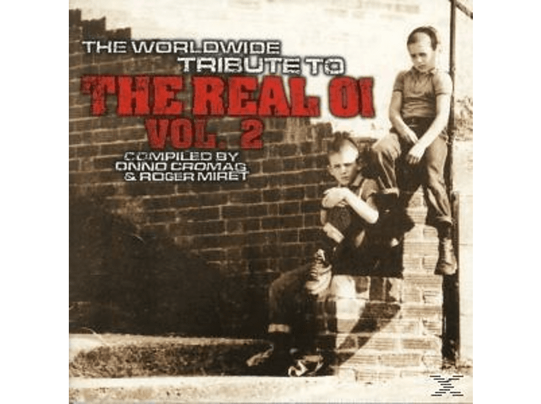 VARIOUS - Worldwide Tribute to the real Oi Vol.2 [CD]