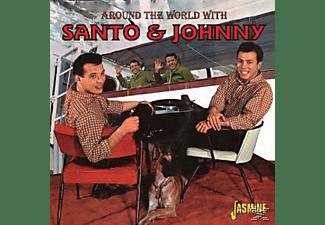 Santo & Johnny - Around The World With Santo  - (CD)