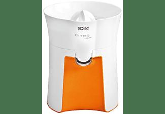 Exprimidor - Solac EX6151, Potencia de 40W, Dos conos intercambiables, Sistema antigoteo, Antisalpicaduras