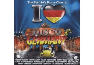 VARIOUS - I Love Disco Germany 80'S  - (CD)