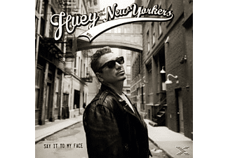 Huey And The New Yorkers - Say It To My Face  - (CD)