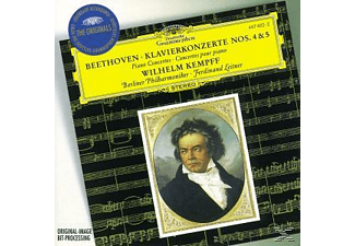 Carl August Nielsen, Kempff,Wilhelm/Leitner,Ferdinand/BP - Klavierkonzerte 4, 5  - (CD)